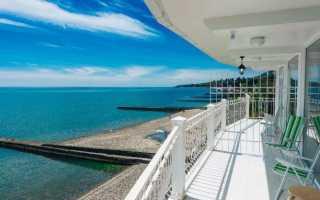 Топ-9 лучших отелей Абхазии на берегу моря: Цены 2021