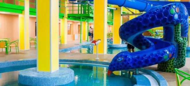 Аквапарк Дельфин в Караганде