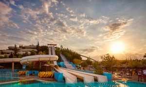 Аквапарк Water Park в Греции о. Родос Филарики: видео