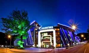Аквапарк Газпрома Галактика в Сочи (Красная поляна): видео