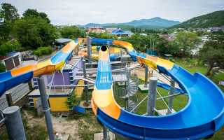 Архипо-Осиповка аквапарк Изумрудный город