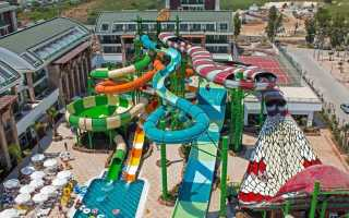 Аквапарк отеля Crystal Waterworld Resort & SPA Белек