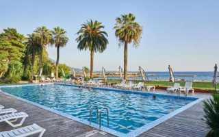 Топ-7 отелей Абхазии с бассейном на берегу моря 2021