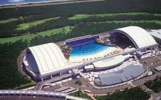 ТОП 10 самых крупных аквапарков мира