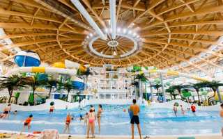 Новосибирск — аквапарк Аквамир: видео