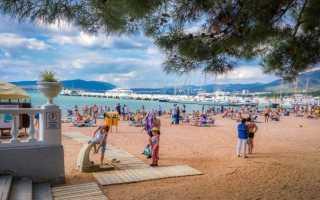 Топ-6 песчаных пляжей Геленджика 2021: Где находятся? Видео
