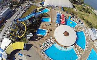 Таганрог — аквапарк Лазурный: видео
