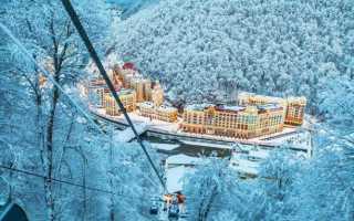 Топ-6 развлечений на Красной Поляне зимой: Цены 2020/2021