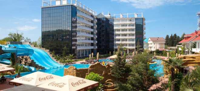 Аквапарк Прометей парк отель Лазаревское: фото, видео