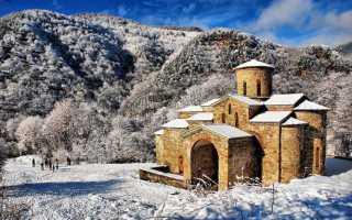 Отдых в Архызе зимой: достопримечательности, трассы, цены