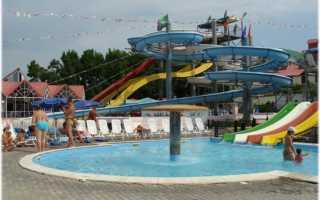 Аквапарк Черномор в Лермонтово
