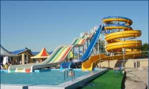 Аквапарк Оазис в Белой Глине
