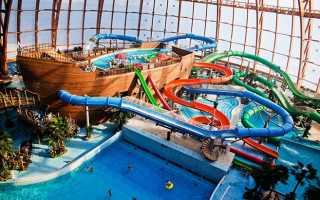 Piterland — крупнейший аквапарк в Питре