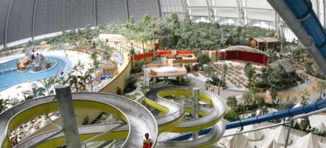 Tropical Islands аквапарк в Берлине