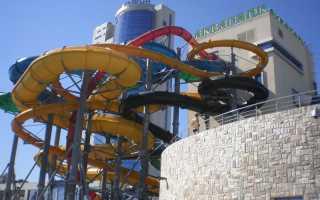 Казань — аквапарк Ривьера