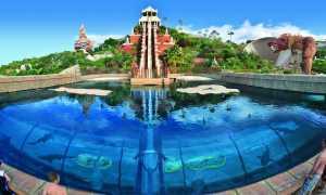 Тенерифе — аквапарк Сиам Парк: видео