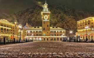 Красная Поляна в декабре 2020: Новые развлечения, погода, снег