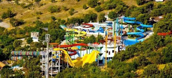 Аквапарки в Ялте Республики Крым