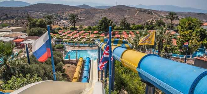 Water City Крит аквапарк в Греции