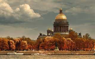 Топ-7 мест Санкт-Петербурга осенью 2021: Что посмотреть?