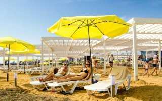 Лучший обзор Имеретинского пляжа в Адлере 2021: Цены, видео