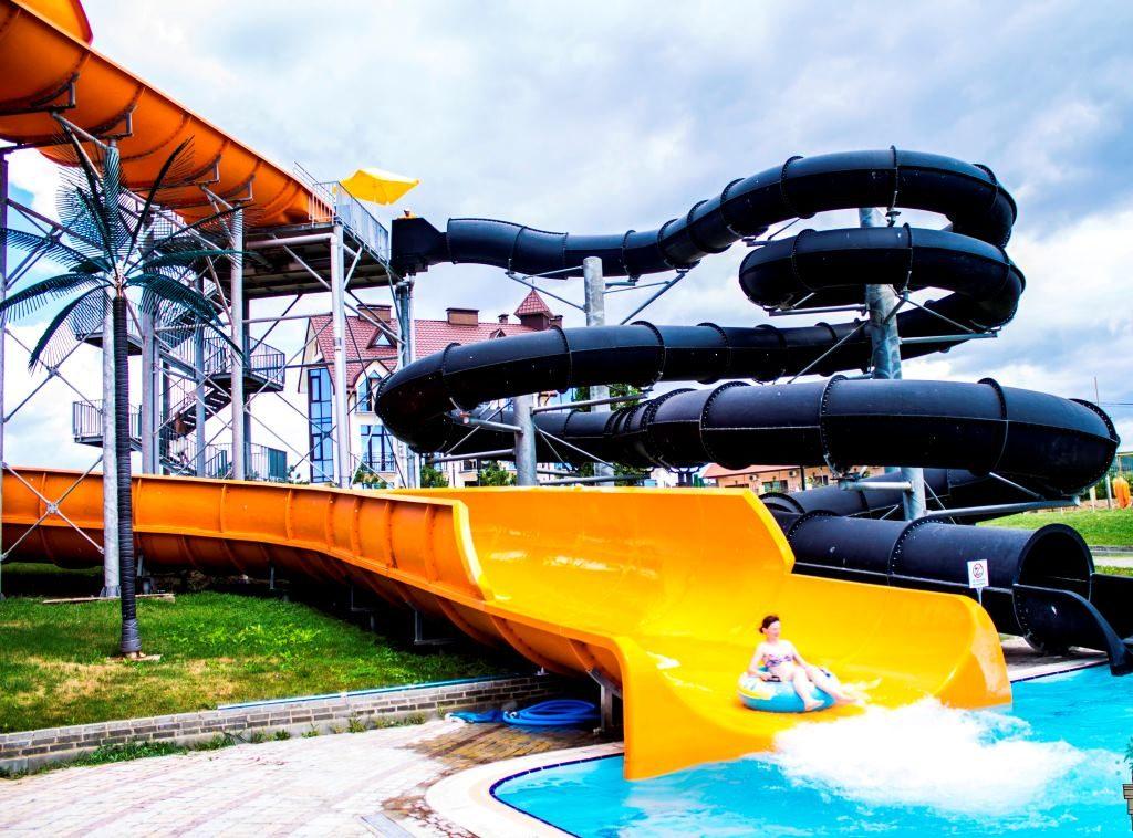 Горки аквапарка Коктебель
