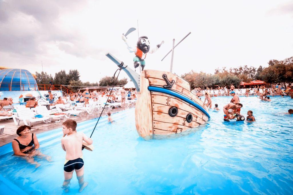 Детский бассейн аквапарка Лава
