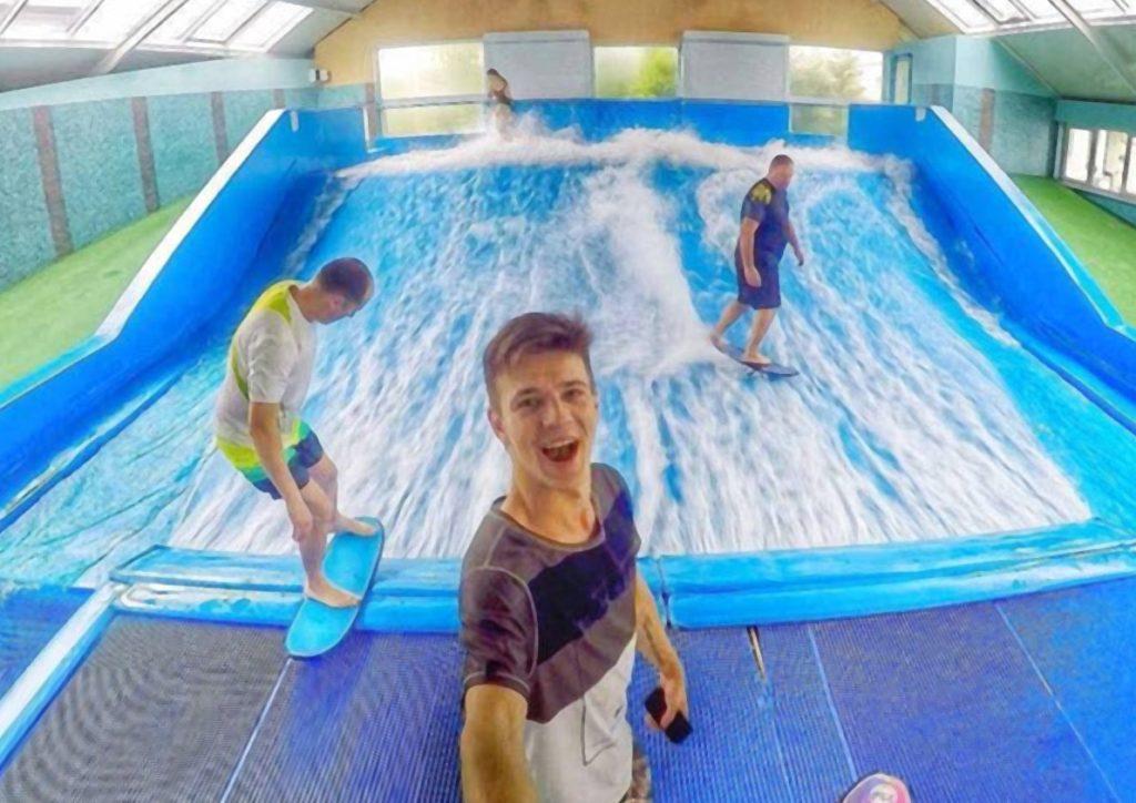 Бассейн для серфинга в москве