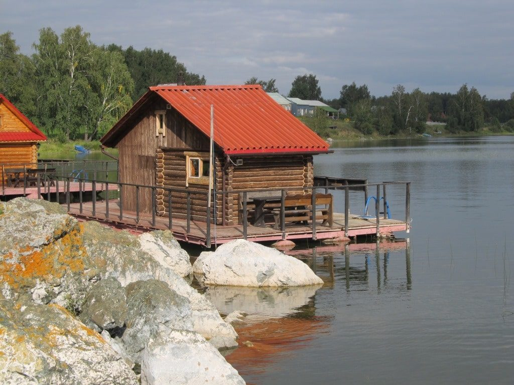 баня озеро Кум-Куль