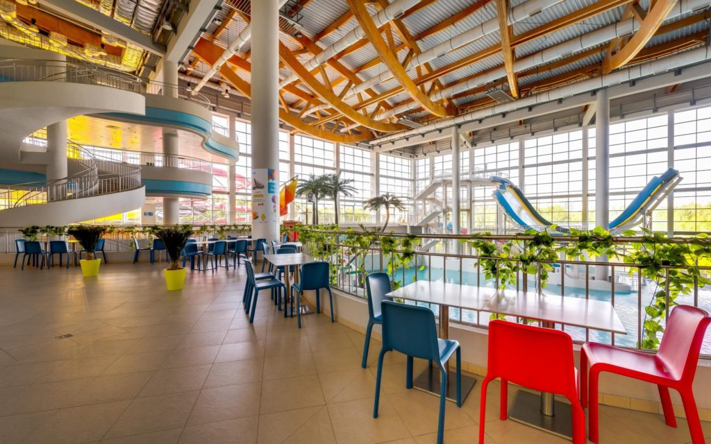 Кафе аквапарка Мореон