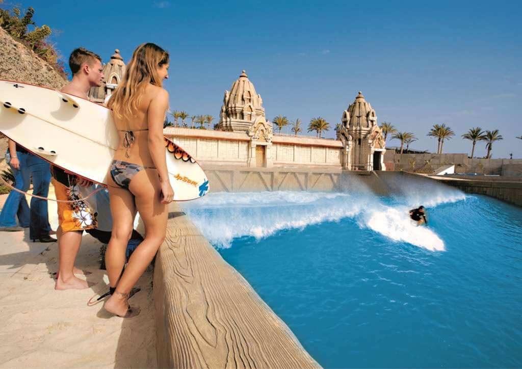 бассейн серфинга