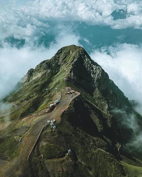 Горы Роза Хутор