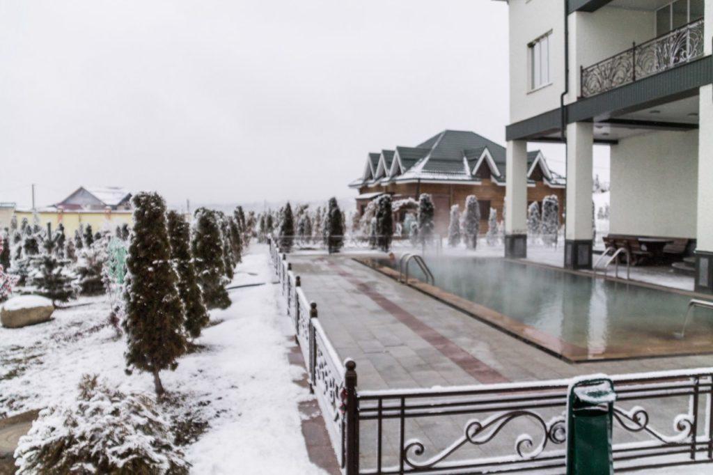 Приэльбрусье зимой