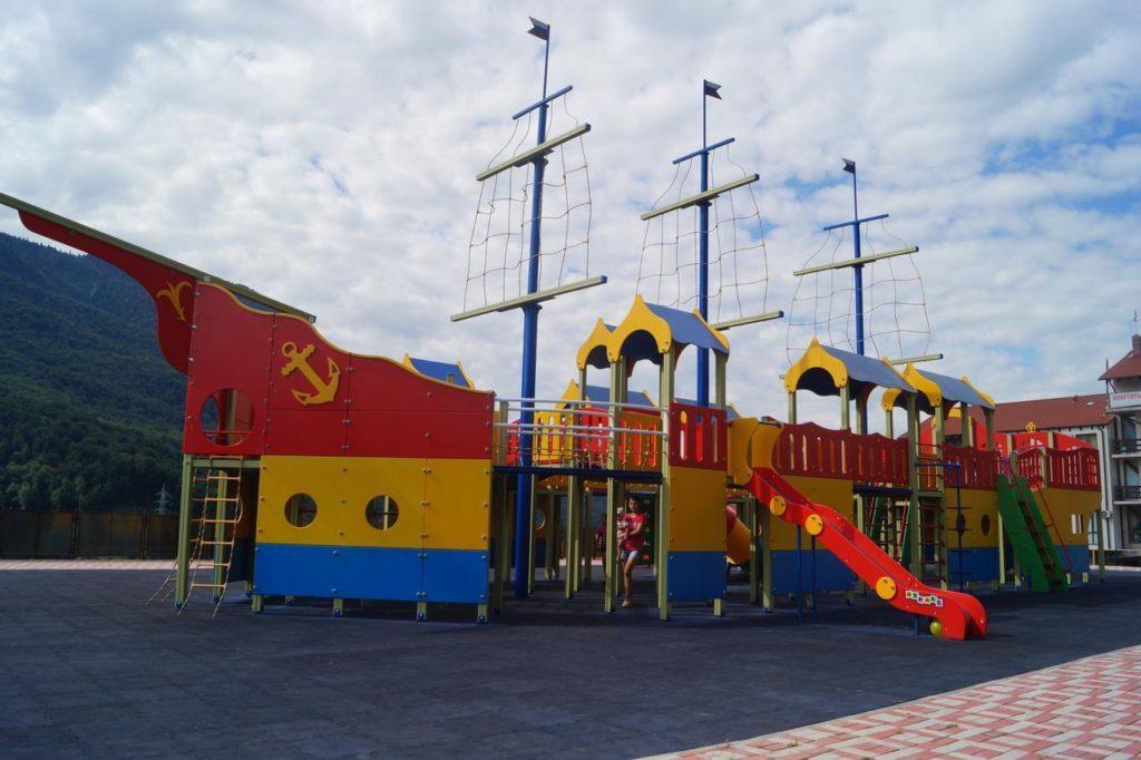 Красная Поляна с детьми
