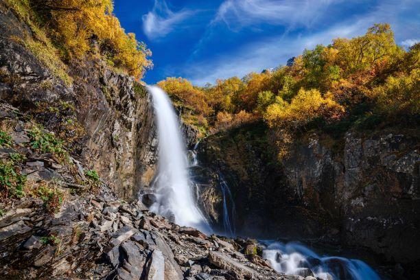 Домбай водопады