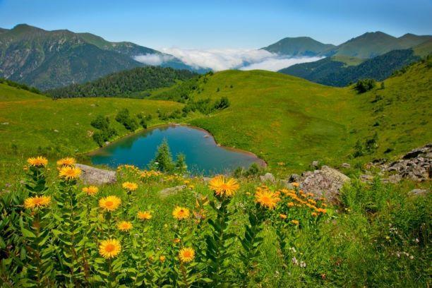 Озеро любви в Архызе