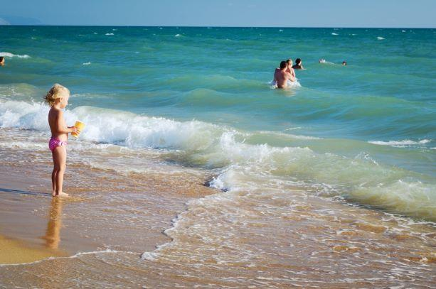 Анапа пляж дети