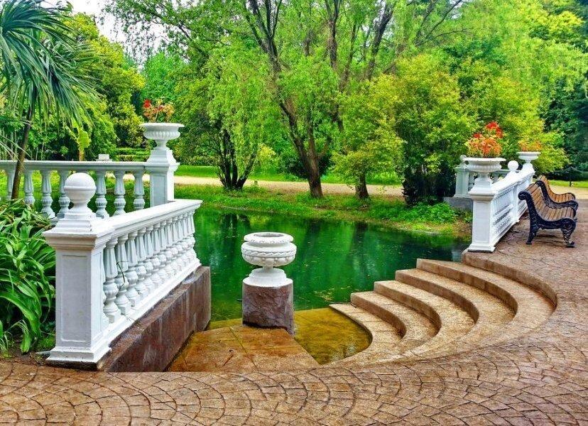 Парк Южные Культуры Адлер