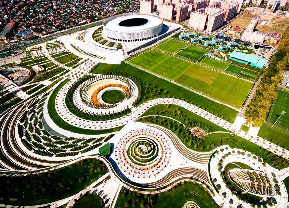 Парк Галицкого в Краснодаре стоимость