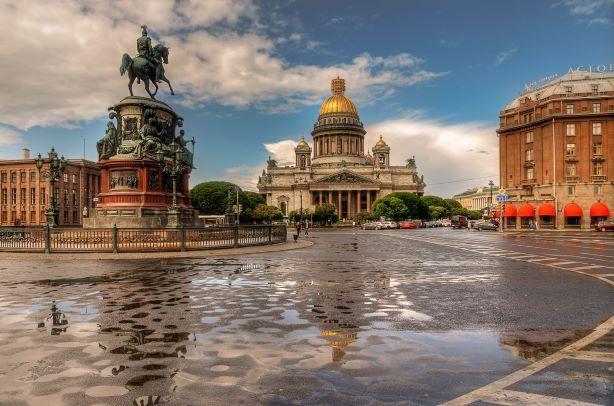 Санкт-Петербург без прививки