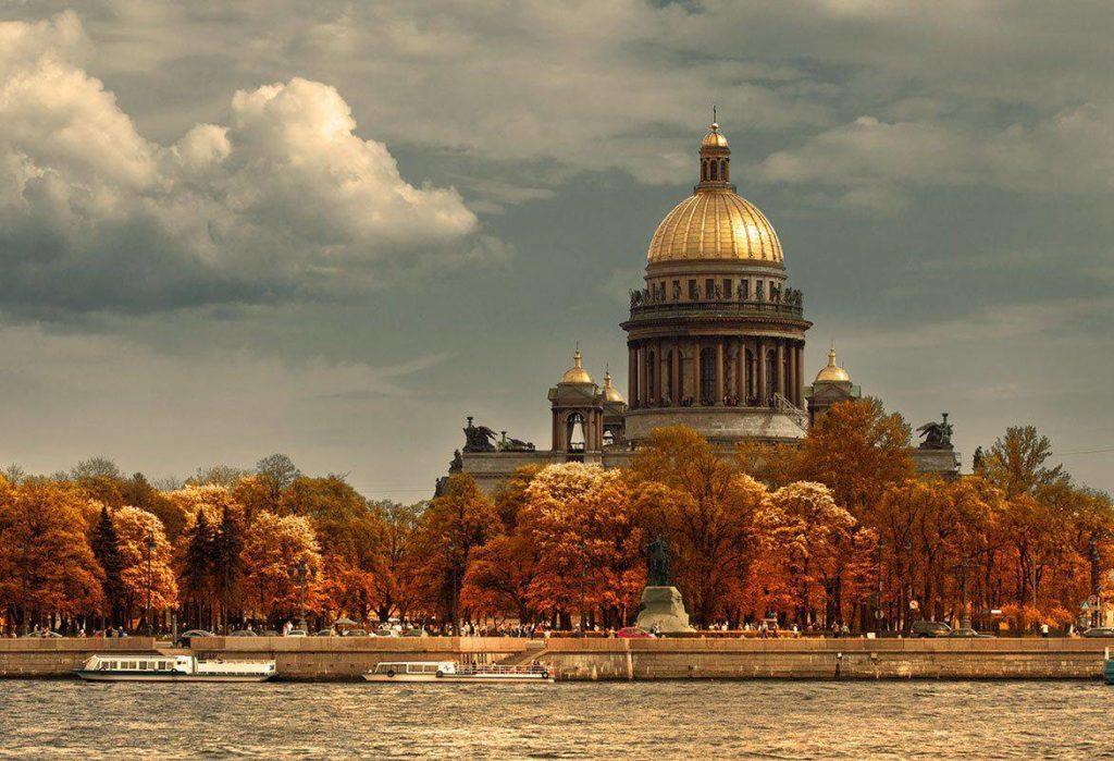 Петербург осенью