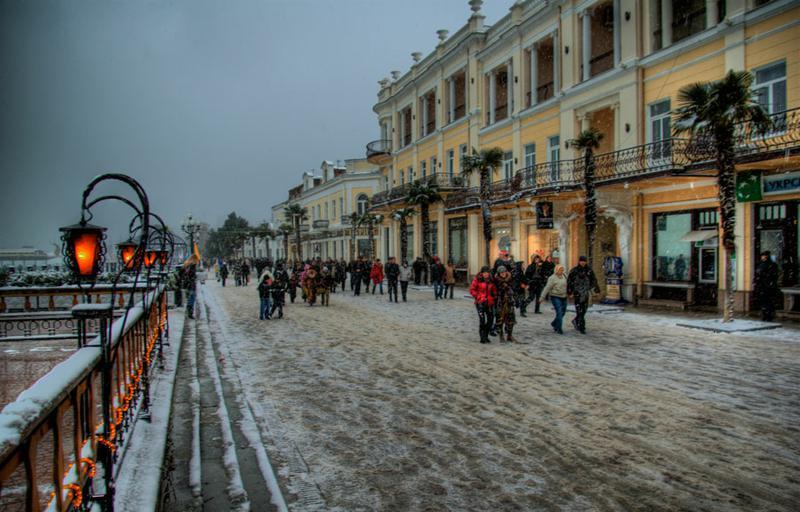 Какая зима в Крыму