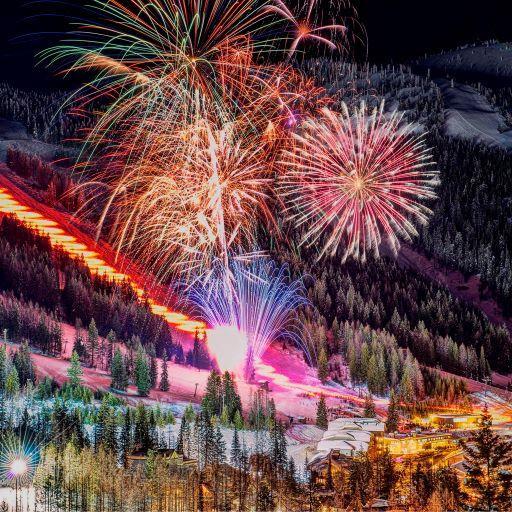 Домбай на Новый год
